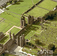 Arbroath Abbey, founded 1178